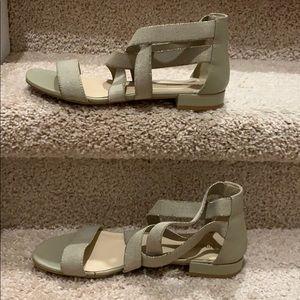 Nine West tan sandals